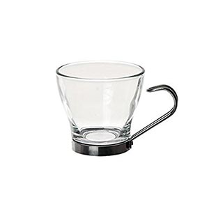 Excelsa-Glass-&-Stainless-Steel-Cup