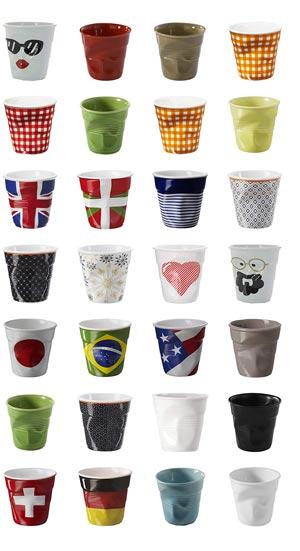 Revol Crumpled Espresso Cups
