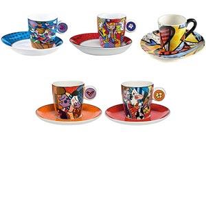 Romero-Britto-Espresso-Cups
