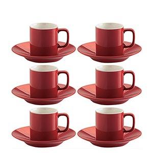 red-espresso-cup-set